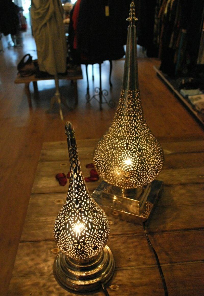 orientalische Lampen Stehlampen Filigranmuster