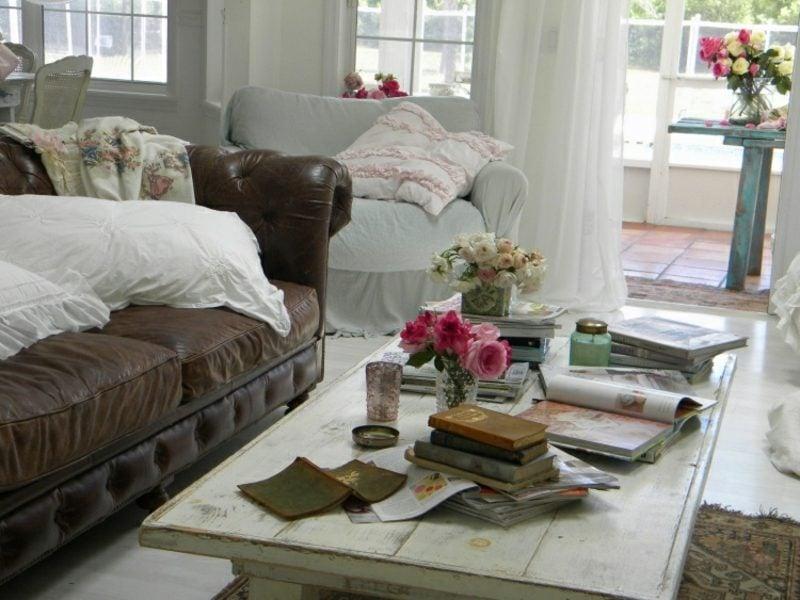 antike Möbel Vintage Couchtisch Sofa