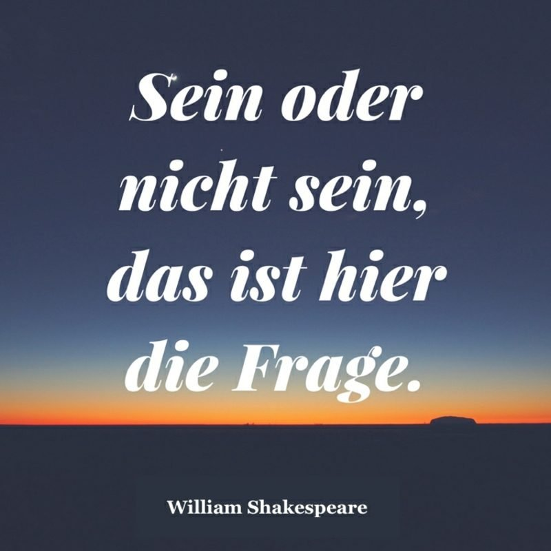 Shakespeare Zitate