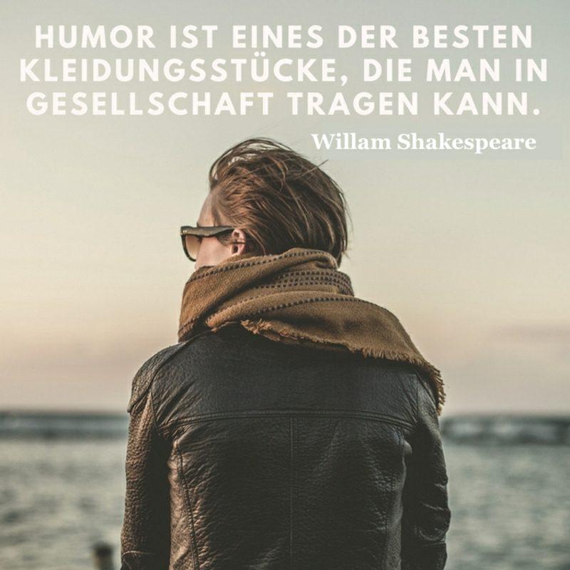 Shakespeare Zitate weltbekannt Humor Gesallschaft