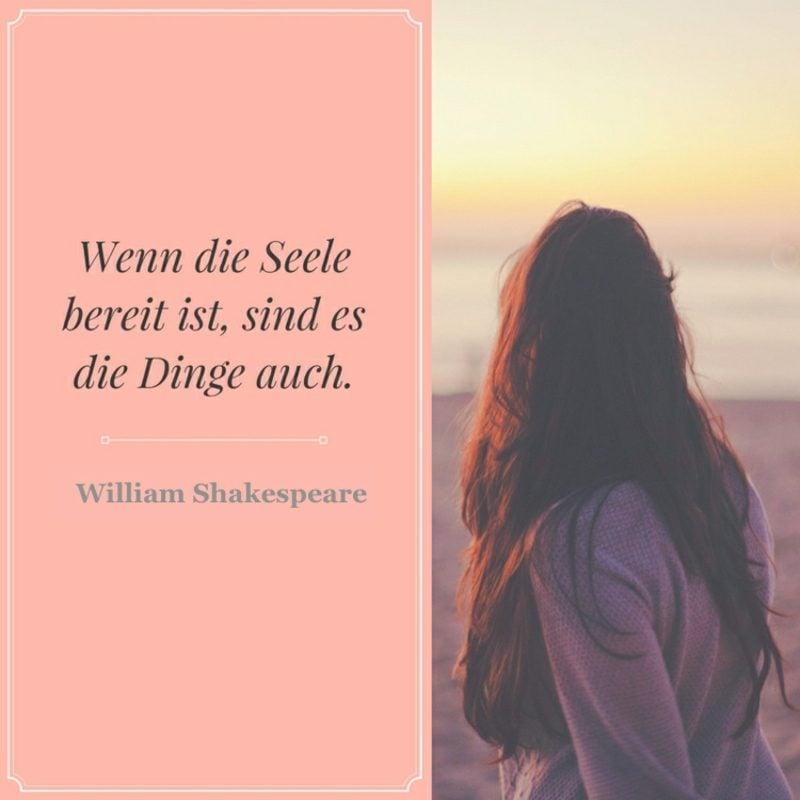Shakespeare Zitate zum Nachdenken Bereitschaft