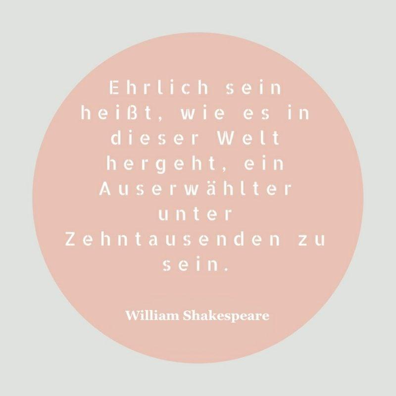 Shakespeare Zitate Ehrlichkeit