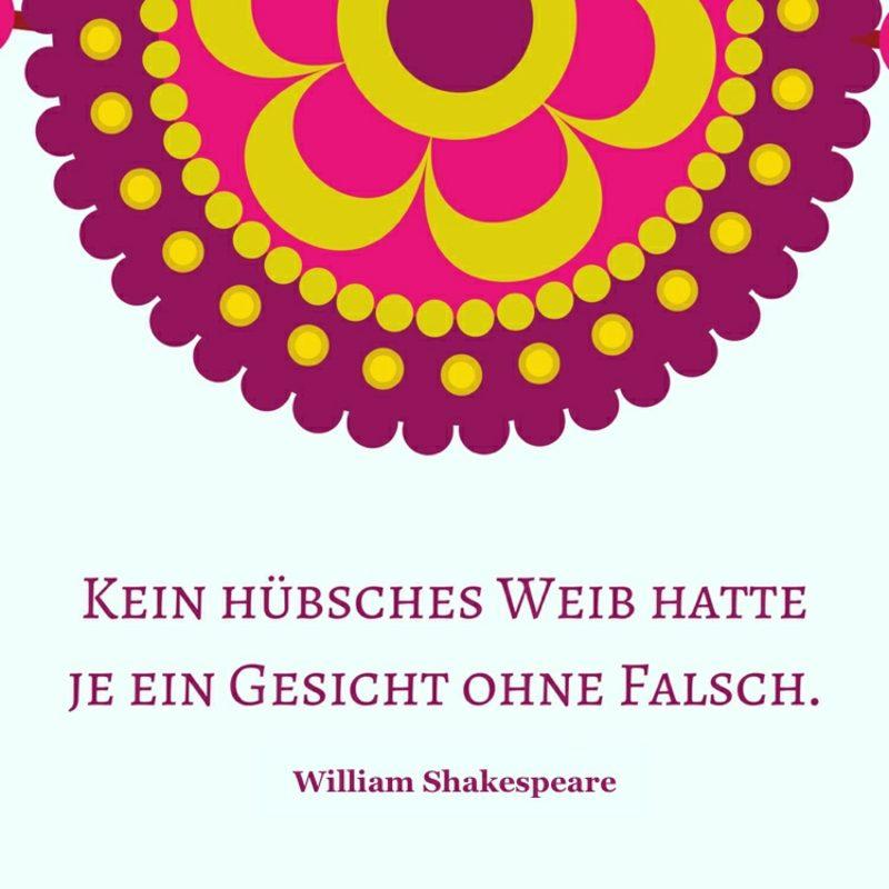 Shakespeare Zitate besinnlich Frauen