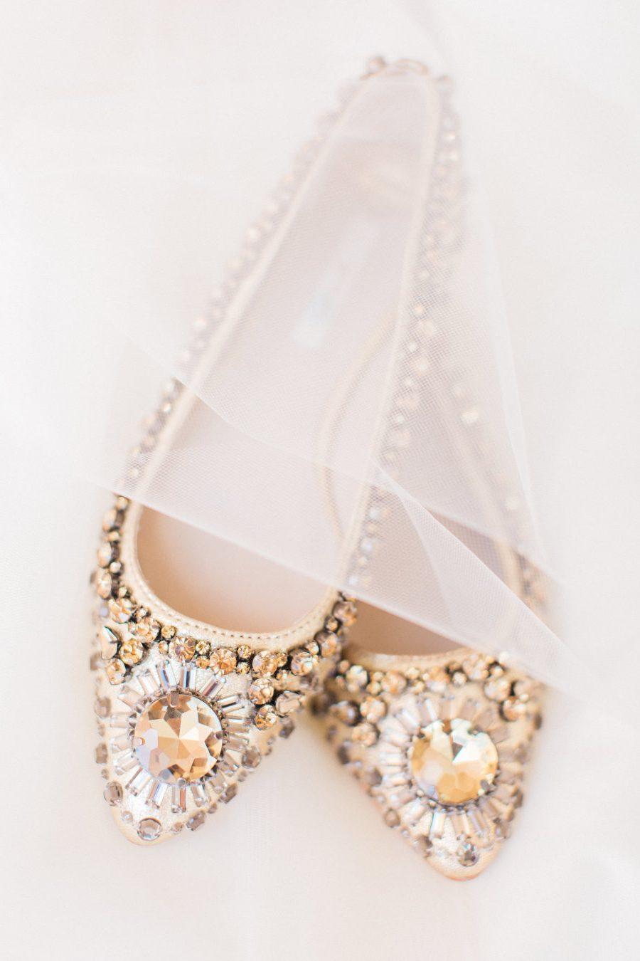 Brautschuhe Ballerinas - Das Gesicht der Adel und Bequemlichkeit