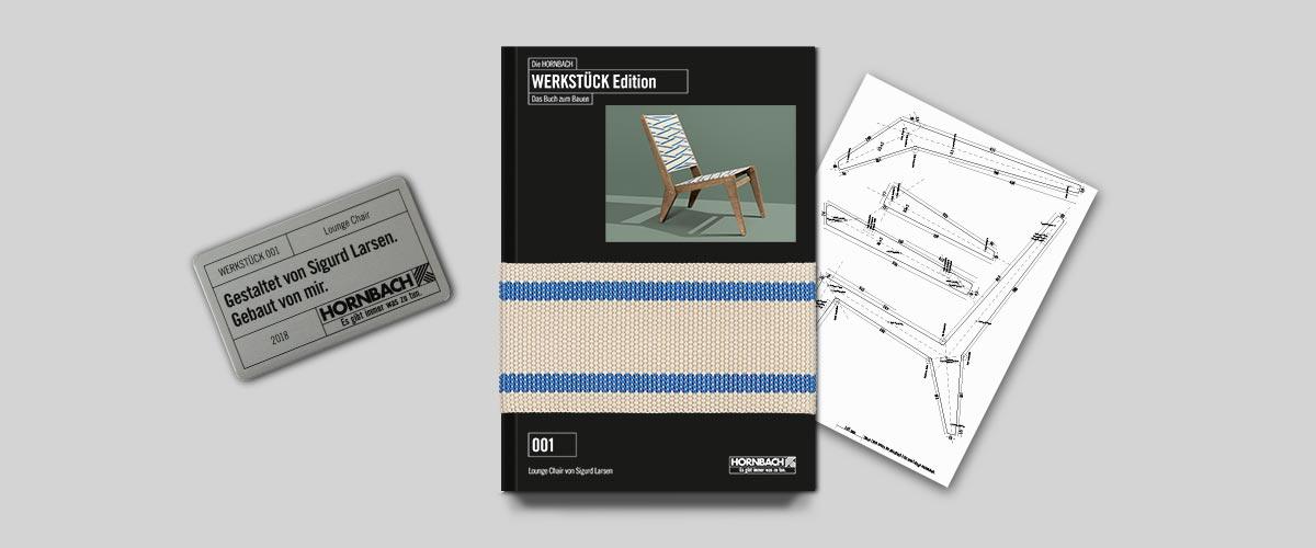 Das Buch zum Bauen führt zum Lounge Chair