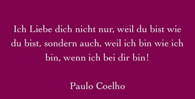 Valentinstag Sprüche und Zitate Paulo Coelho