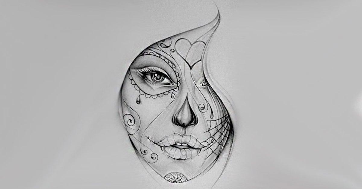 La Catrina Tattoo Bedeutung