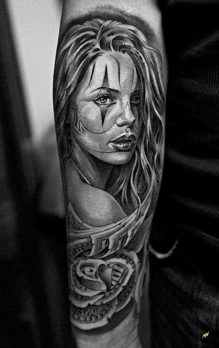 La Catrina Tattoovorlagen