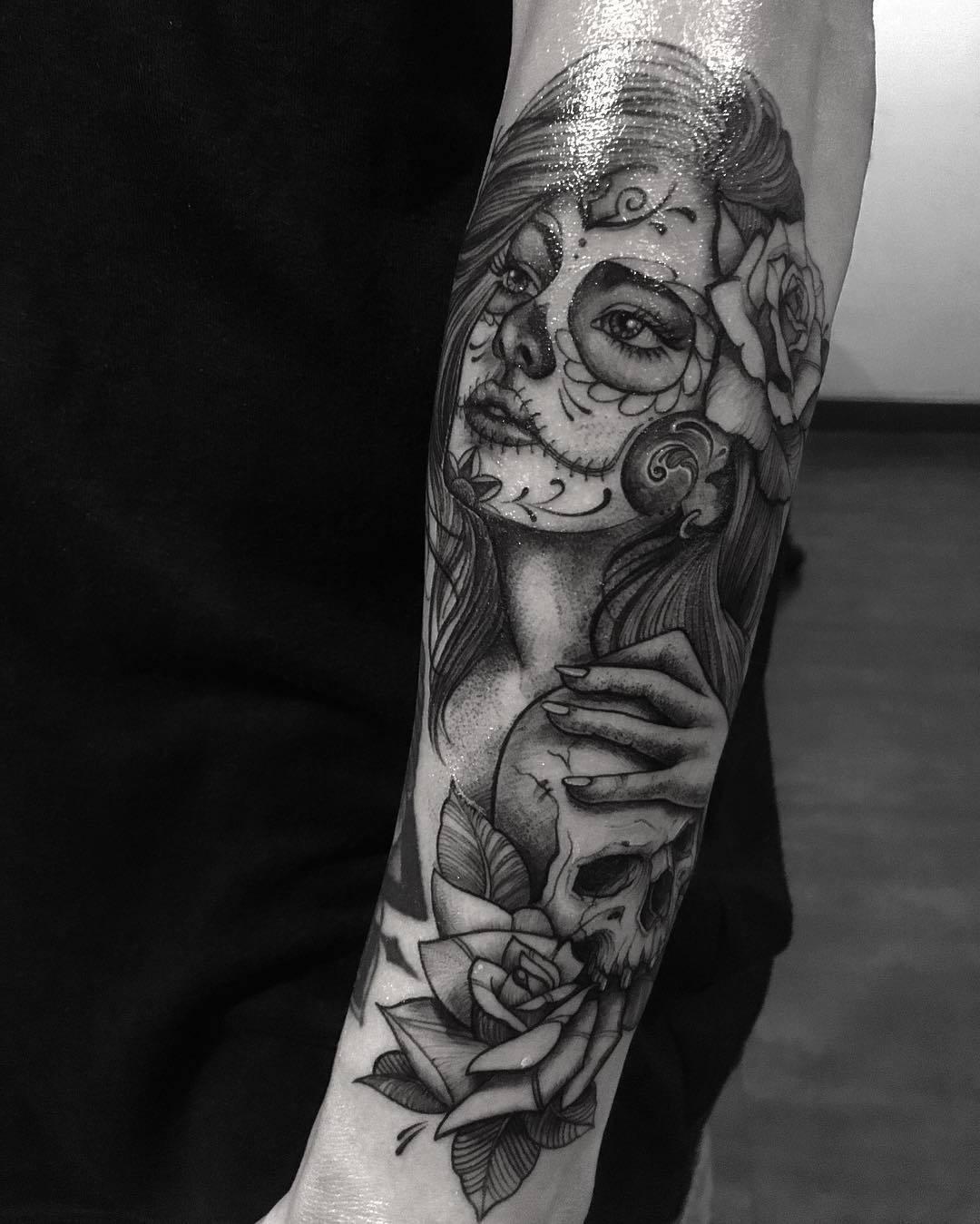 Geschichte hinter dem Trend - La Catrina Tattoo