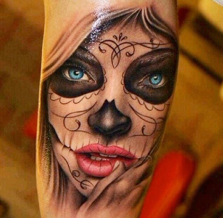 La Catrina Tattoo Bedeutung - Was steht hinter dem Trend ...