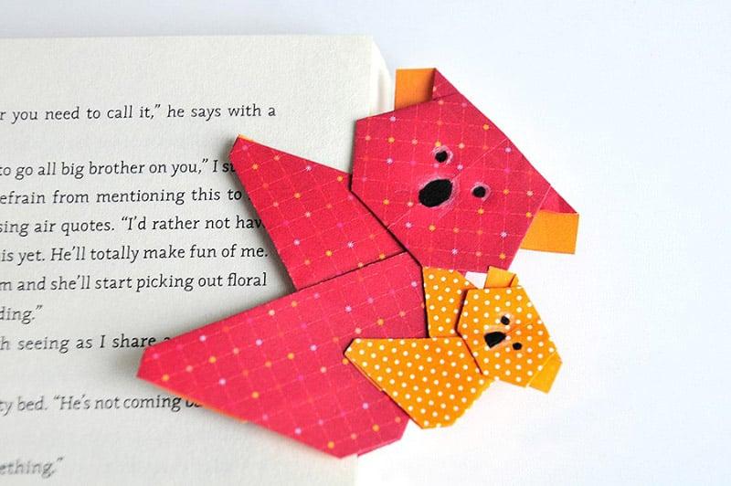 Andere tolle Ideen für Lesezeichen Basteln, die für Kinder geeignet sind