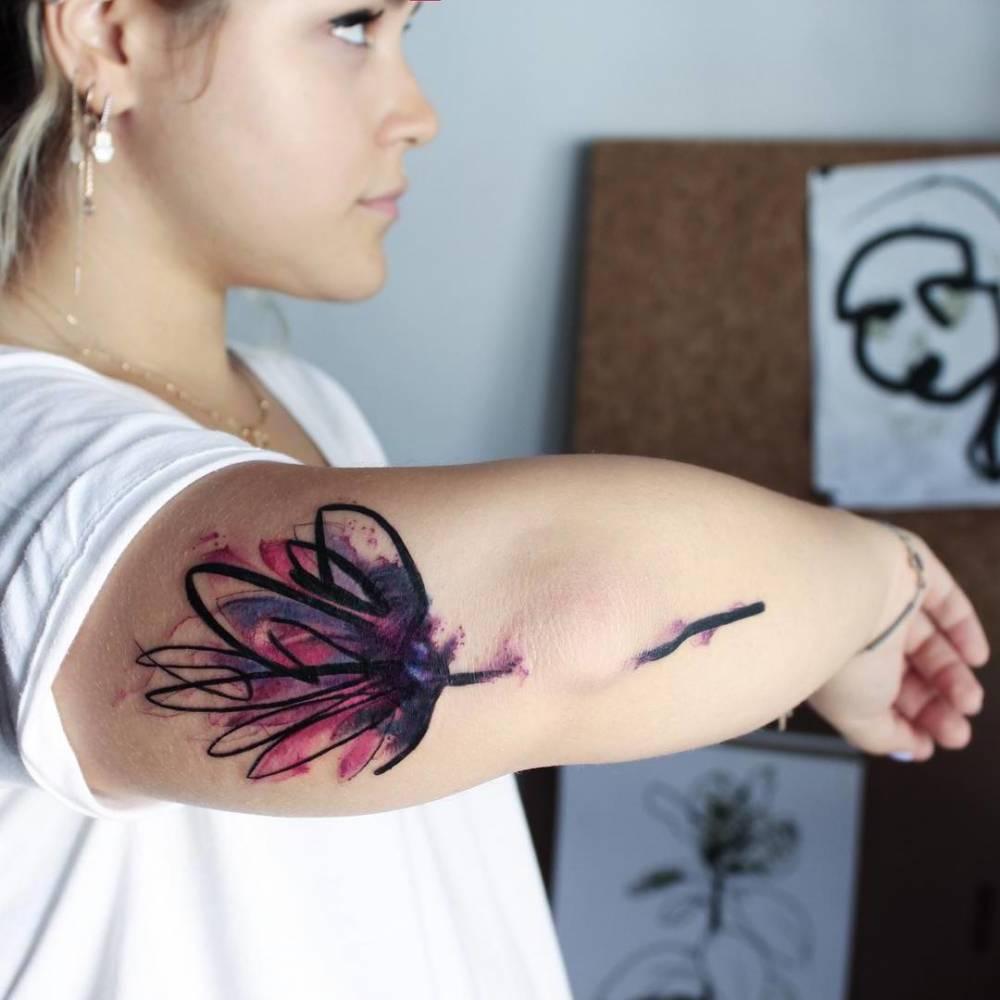 Lotusblüte Tattoo Ideen