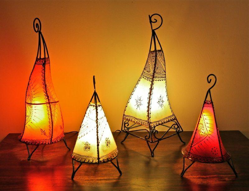 orientalische Lampen Hennalampen