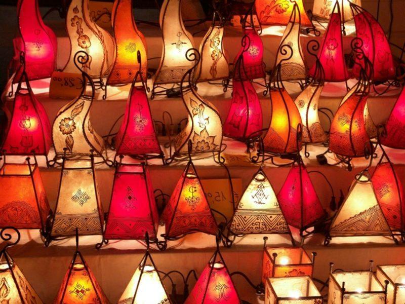 orientalische Lampen Hennalampen marokkanisch