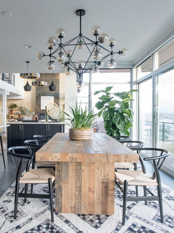 Massivholzmöbel in minimalistischem Stil