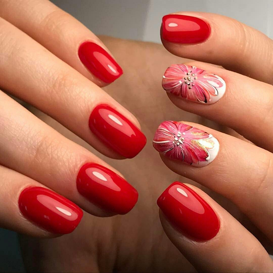 """""""Rosen sind rot"""" und die Fingernägel sollten rot sein"""
