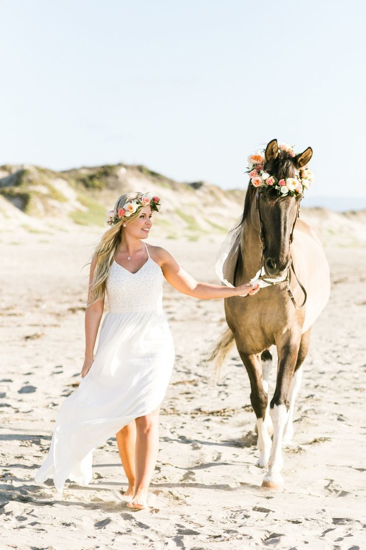 Ideen für schöne Pferde Bilder mit Braut