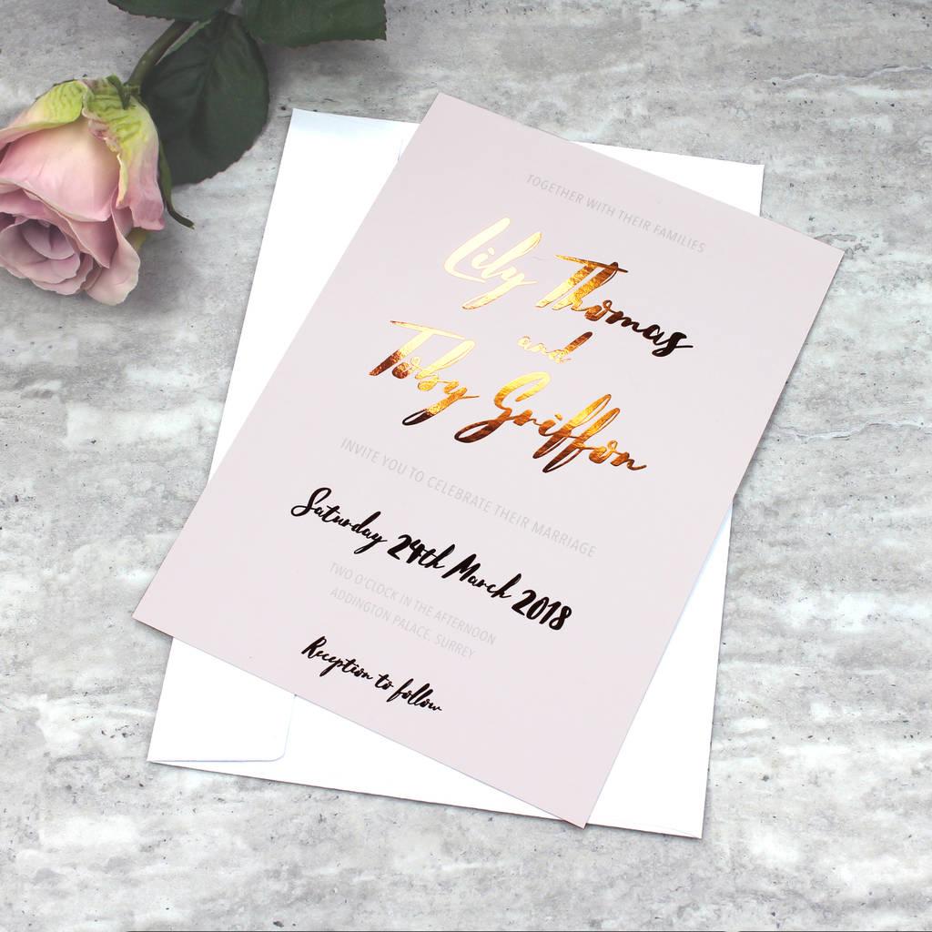Kalligraphie - schöne Schrift für Hochzeitskarten
