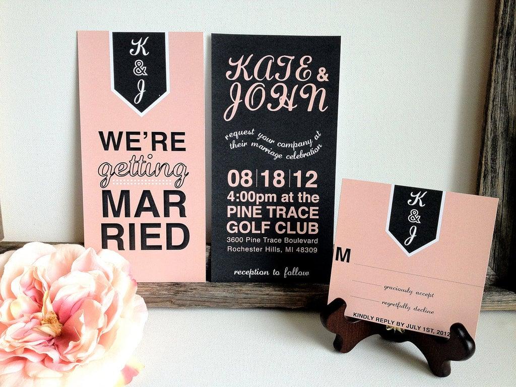 Schöne Schrift Ideen - Schriftarten für Hochzeitskarten
