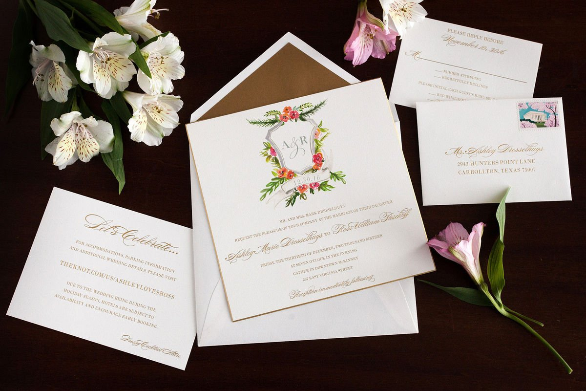Schöne Schriftarten für Hochzeitseinladungen
