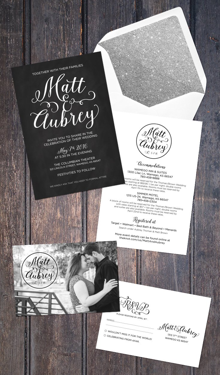 Free Fonts für schöne Schrift für Hochzeitseinladungen
