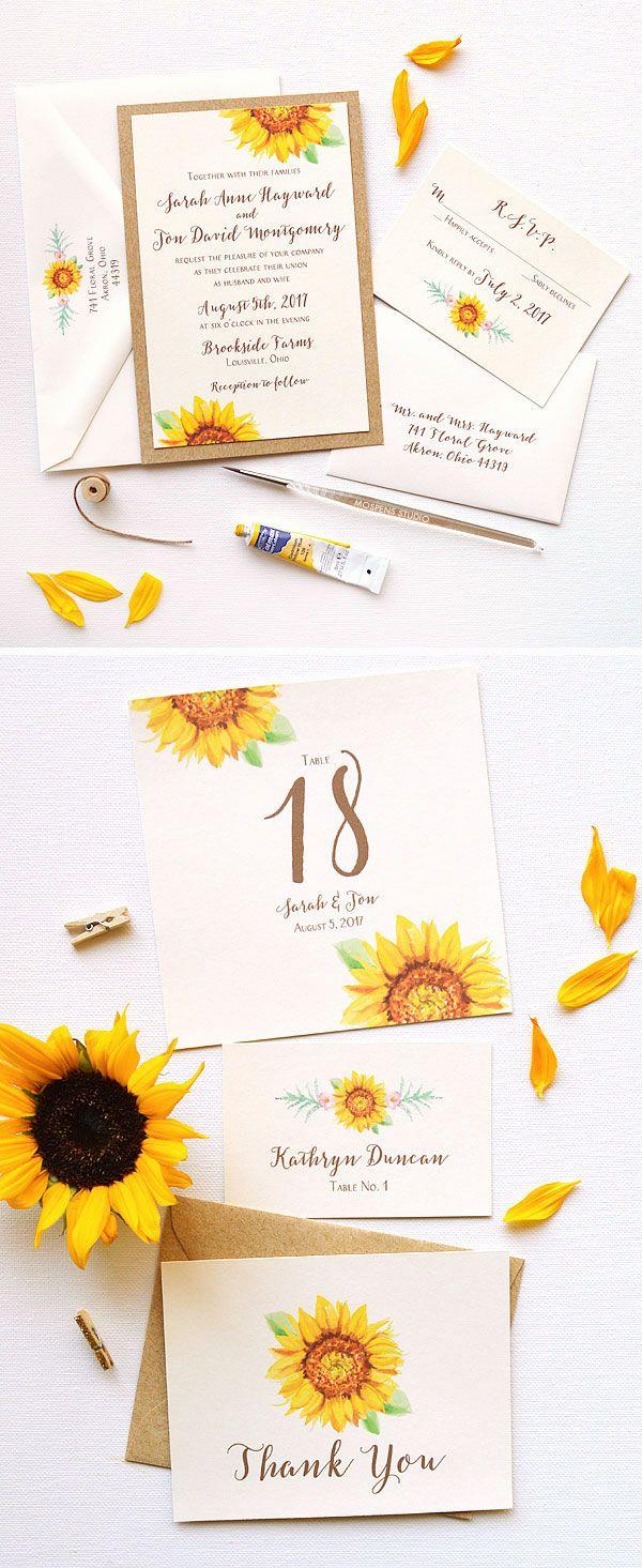 Handschriftliche schöne Schrift für rustikale Hochzeitseinladung