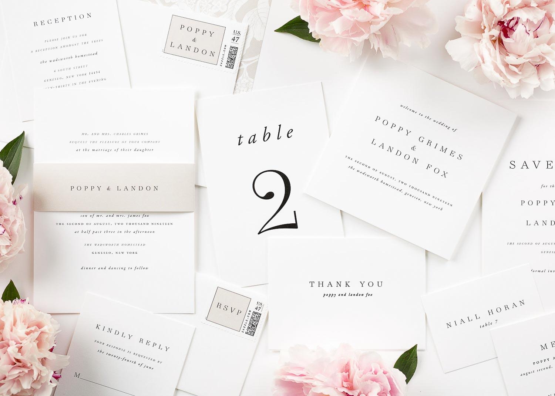 Wie wählen wir die richtige schöne Schrift für unsere Hochzeitseinladung