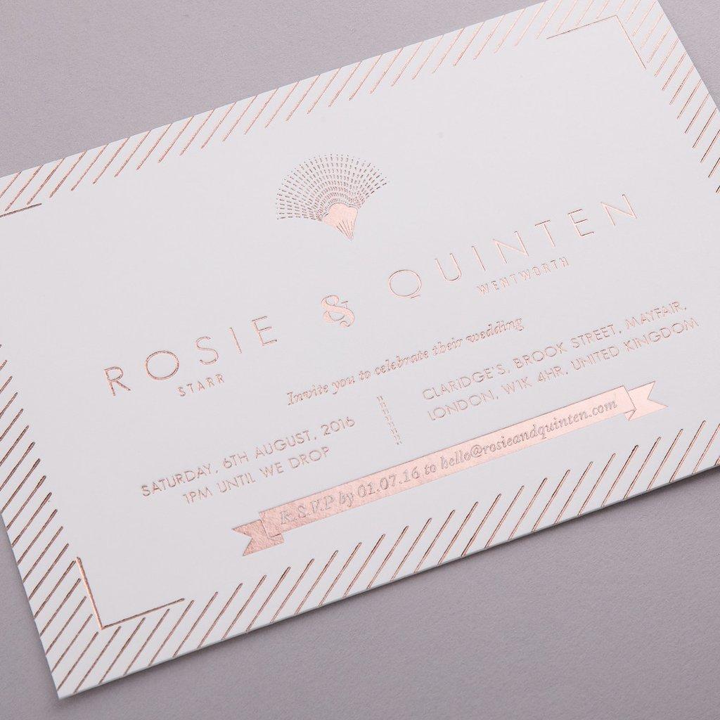 Schöne Schrift für RSVP Hochzeitskarten