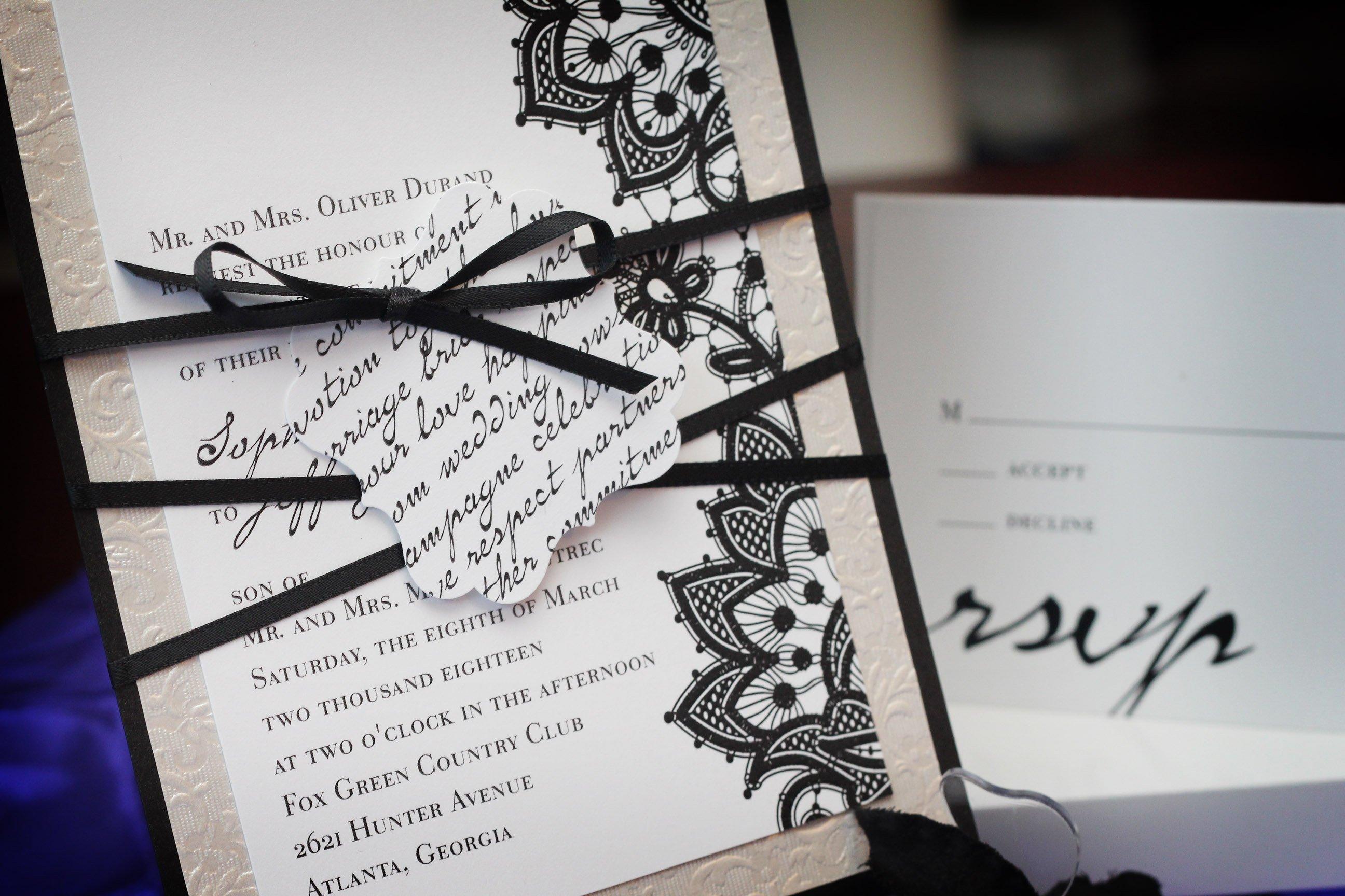 Schriftart für die Hochzeitseinladung - wie wählen wir schöne Schrift für unsere Hochzeitskarten