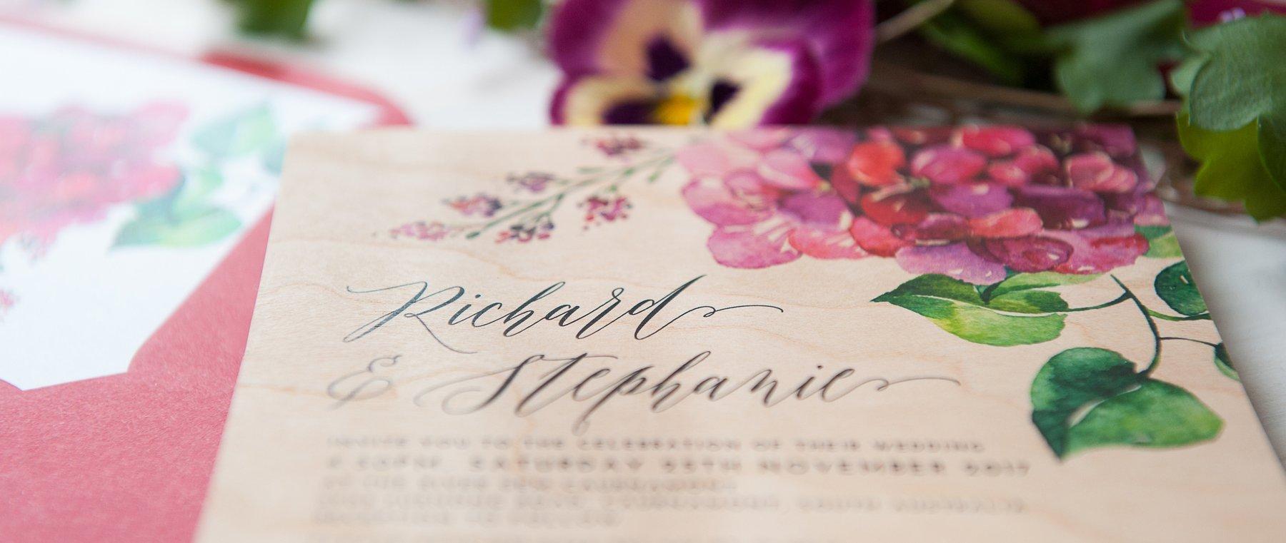 Schöne Schrift Schriftarten für Hochzeit