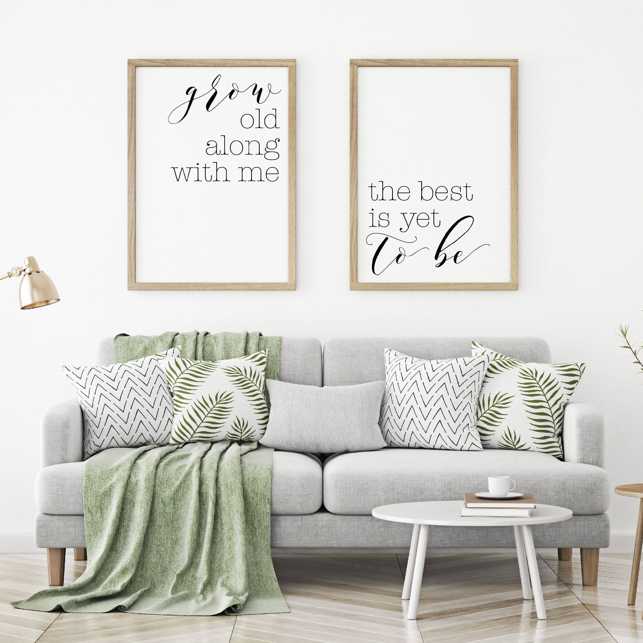 Kreieren Sie schöne Posters für Wand mit diesen Schriftarten ABC