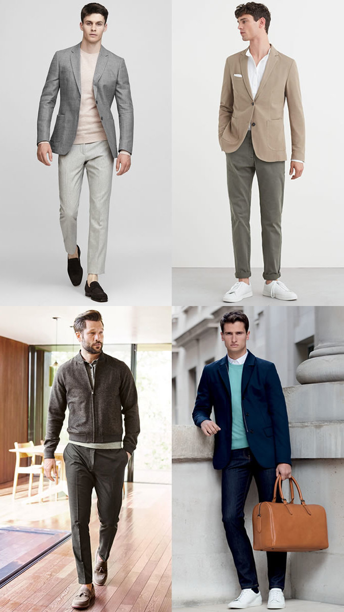 Tragen Sie ein Smart Casual Outfit und sehen Sie fulminant aus.