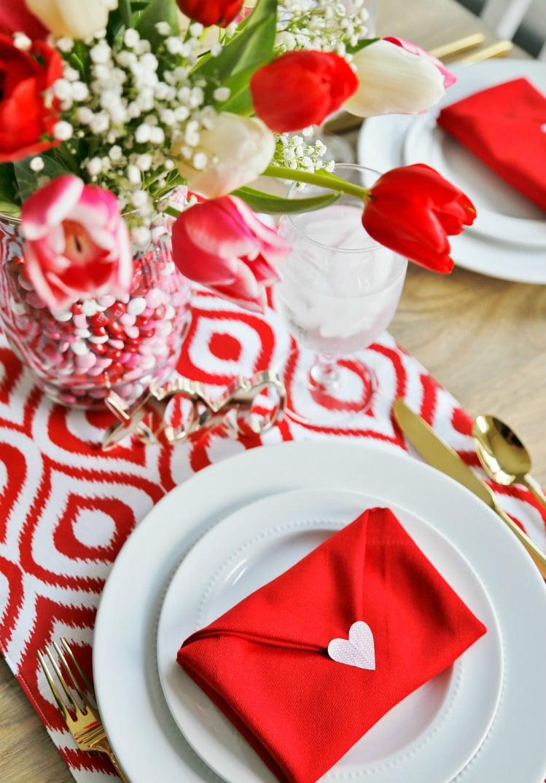 Tischdeko Hochzeit Tischdeko Valentinstag
