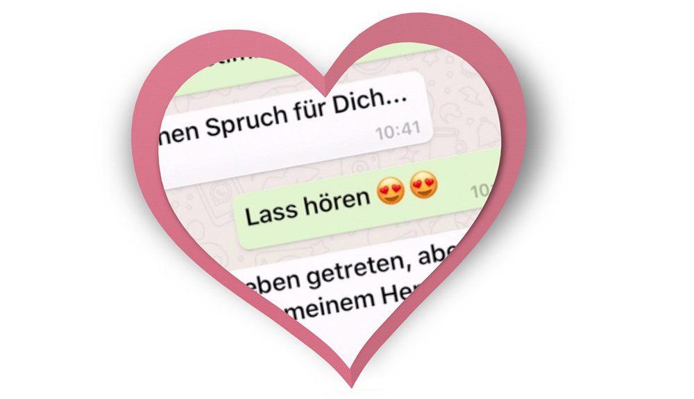 Romantische und lustige Whatsapp Sprüche und Valentinstag ...