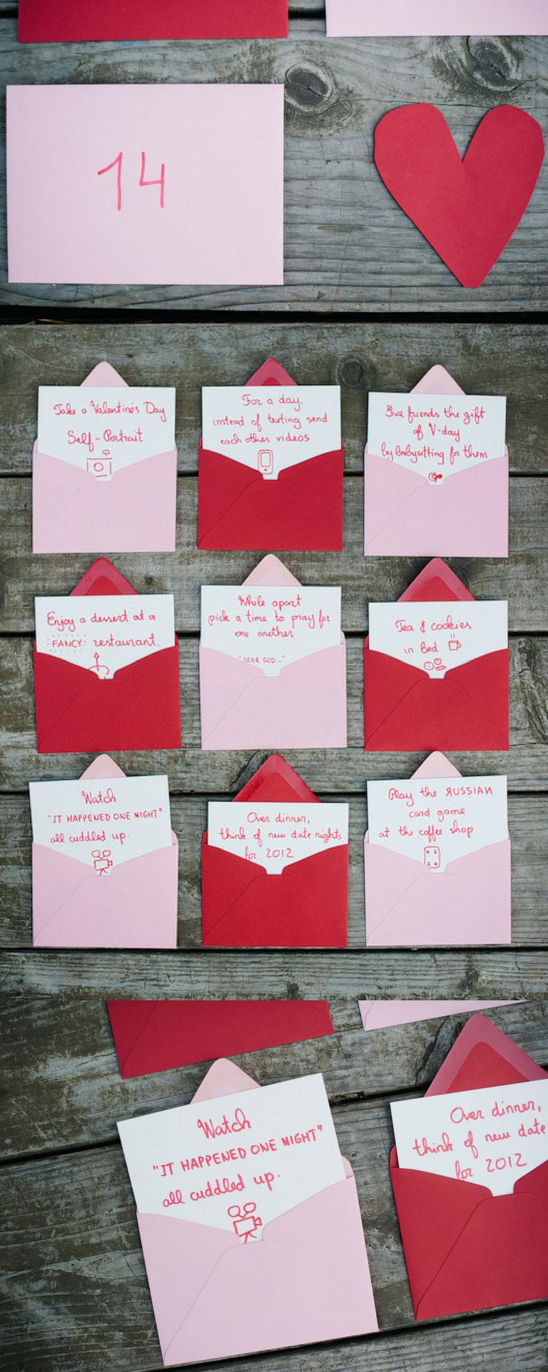 Tolle Ideen für personalisierte Geschenke für Valentinstag