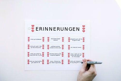 DIY Valentinstag Geschenke für Freundin - Schritt für Schritt Anleitung
