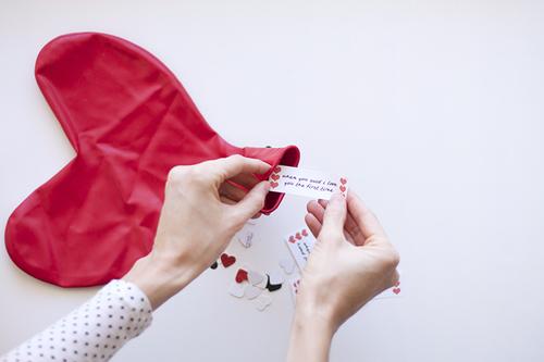 DIY Valentinstag Geschenke für Freundin