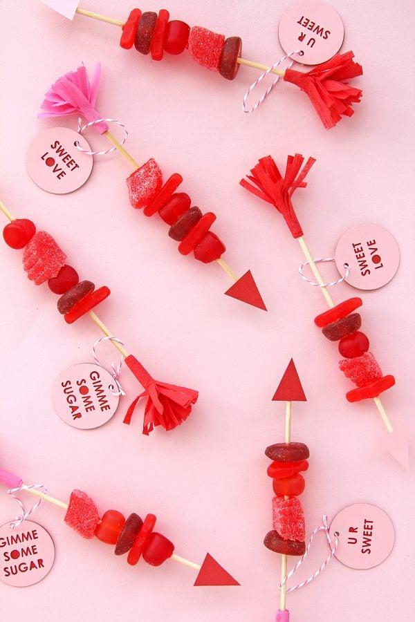 Candy Spieße selber machen