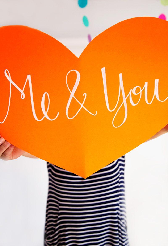 Coole DIY Idee für Valentinstag Überraschung