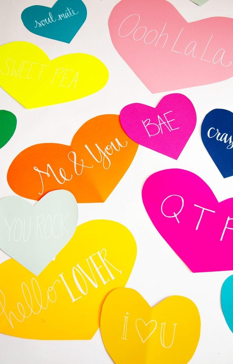 Tolle DIY Idee für Valentinstag Überraschung