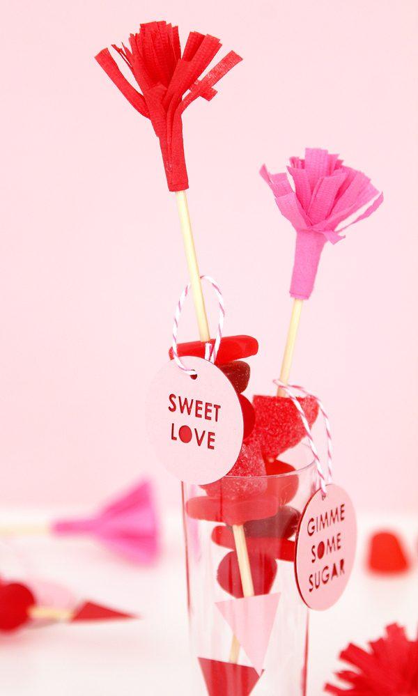 Valentinstag Dekoration selber machen