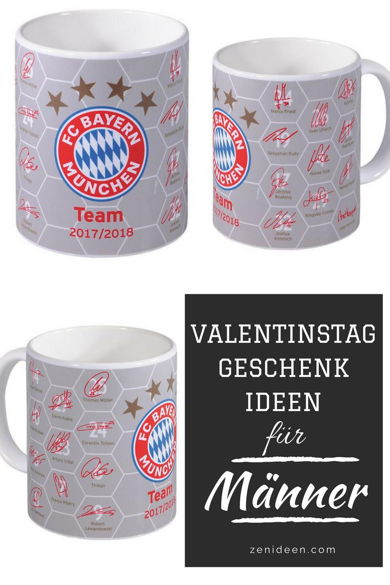 Ist Ihr Mann ein begeisterter Fußball-Fan, dann wäre das beste Geschenk zum Valentinstag: