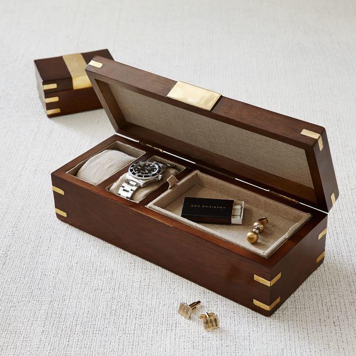 Der männliche Aufbewahrung-Kiste aus Holz - jeder Mann wird sich auf solche Valentinstag Geschenk freuen