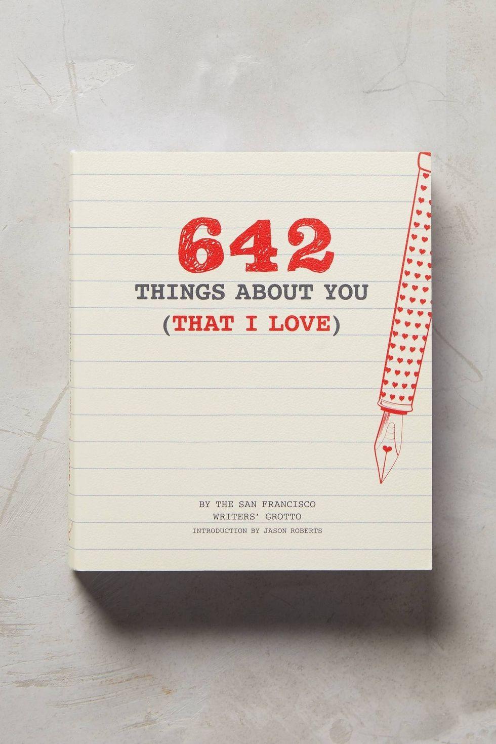 """""""642 Gründe, warum ich dich liebe"""" und noch viele tolle Geschenke Ideen zum Valentistag"""