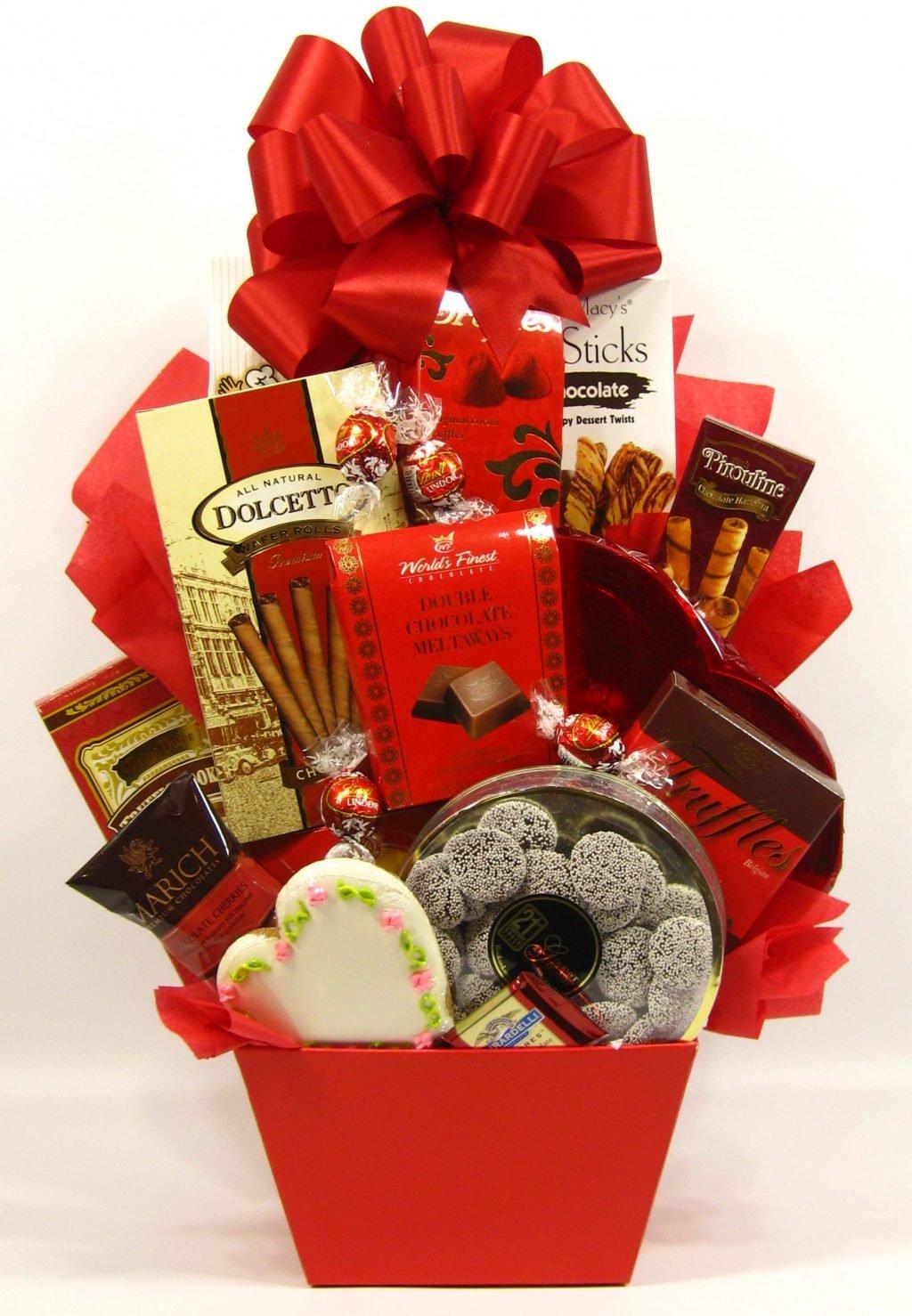Valentinstag Rat 2) Die Liebe ist einfach, wenn die Schokolade in der Nähe ist.