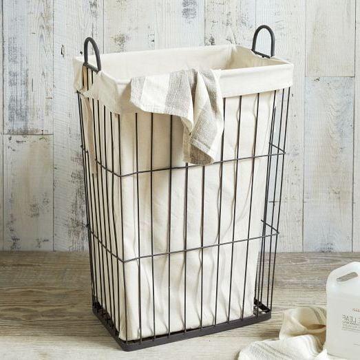 Ein Wäschekorb im Industrial Look