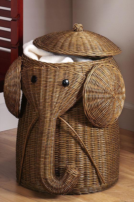 Kreative Ideen für Wäschekorb selber machen