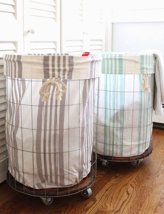 Tolle und einfache Ideen für Wäschekorb zum Nachmachen