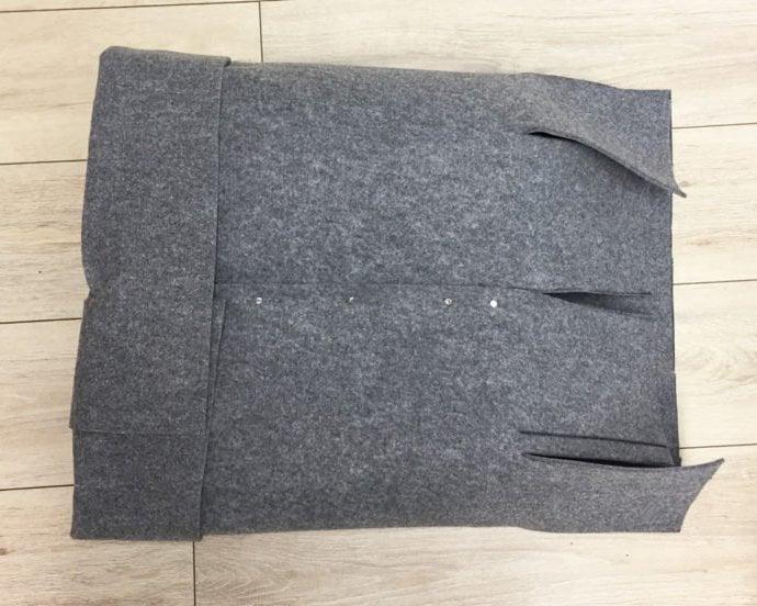 Schritt für Schritt: Wie basteln Sie selber einen Wäschekorb ohne Nähen?