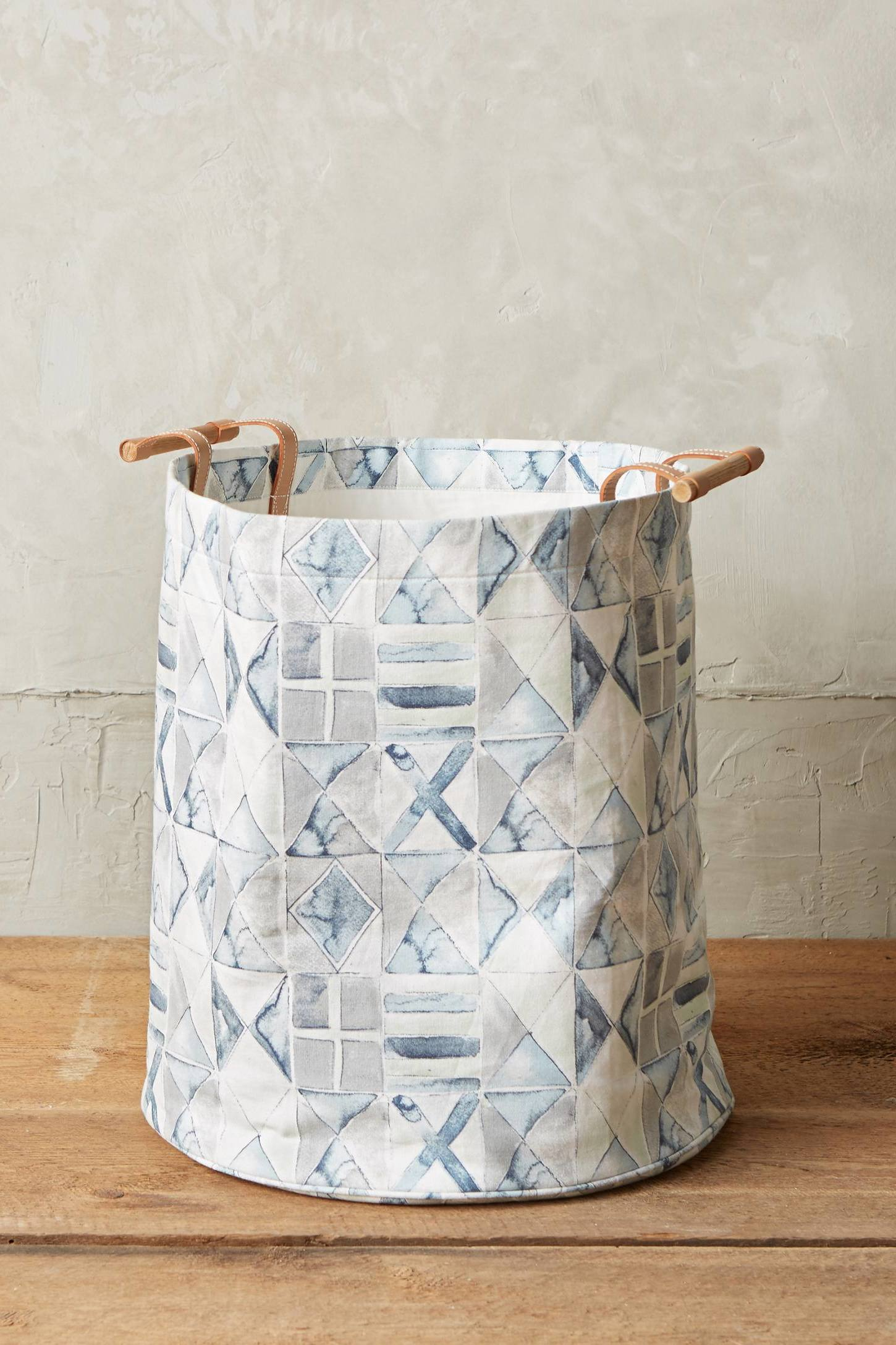 Unkonventionelles Denken: Basteln Sie selber einen Wäschekorb ohne Nähen!